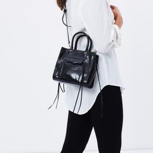REBECCA MINKOFF Mini Regan Side-Zip Tote